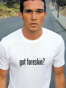 how to put foreskin back